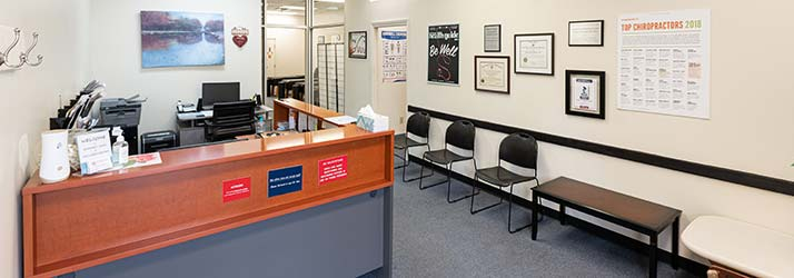 Chiropractic Cincinnati OH Front Desk